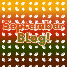 September Blog – Autumn Term