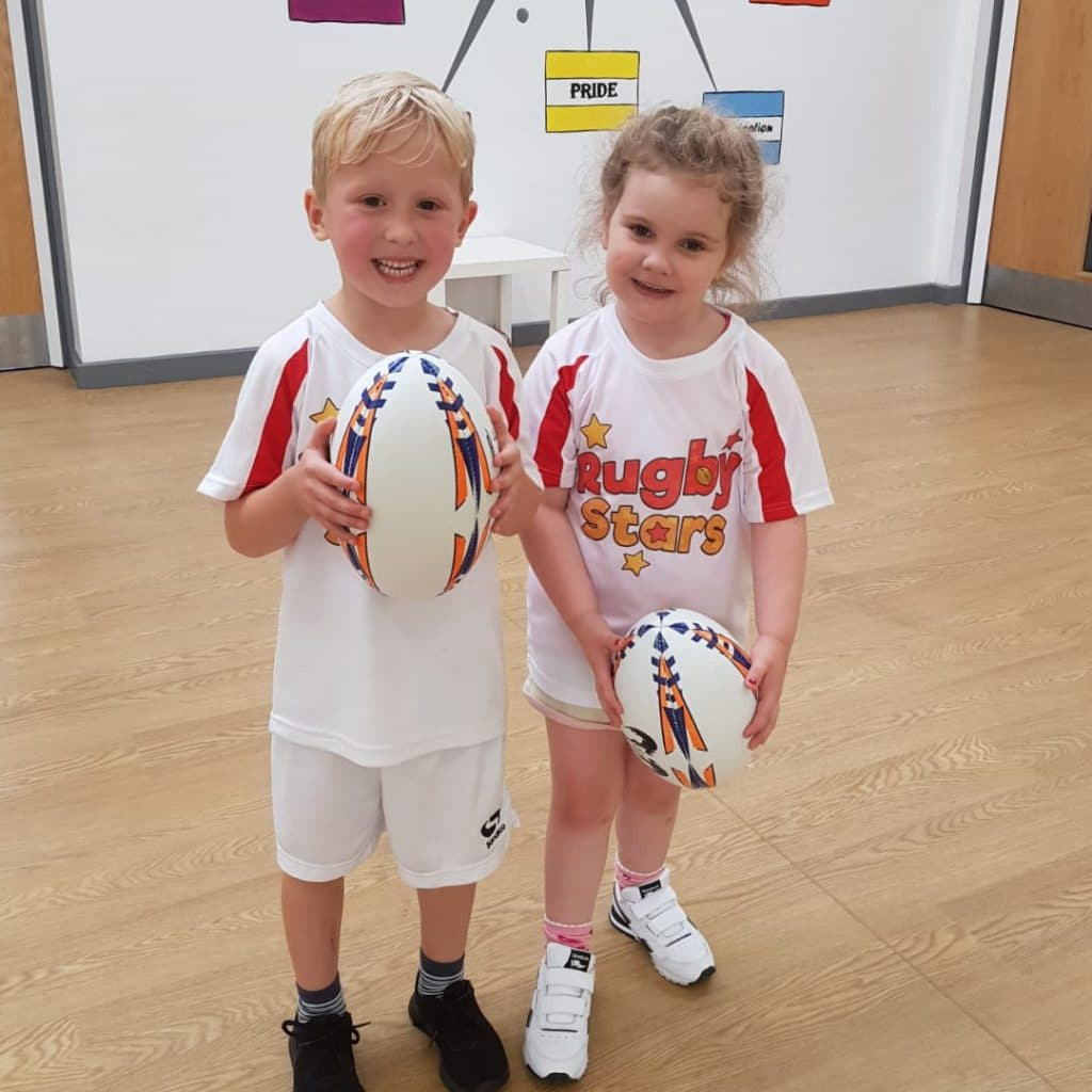 Rugby Stars - Rugby for Children and Tots in Leicester, Kibworth, Market Harborough