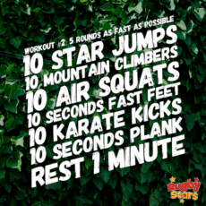 Home Workout For Kids Aged 2 – 6 (#2)!