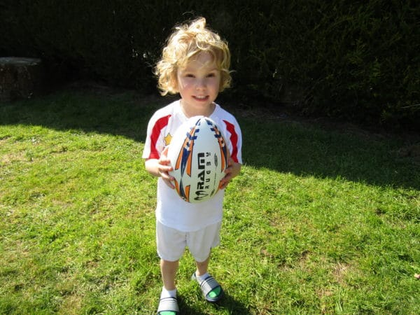 Rugby Ball skills
