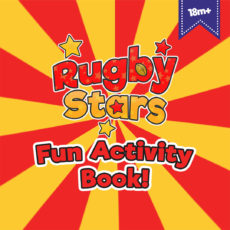 Rugby Stars Fun Activity Book For Kids